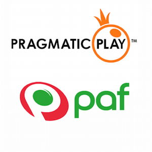 Pragmatic Play och Paf i samarbete